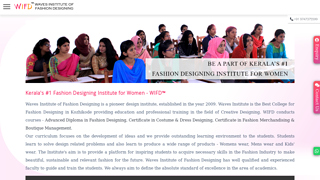 Details : 1 year Diploma in Fashion Design - Top Fashion Institute in Kerala Description : Why should you choose Fashion Design as your career? W
