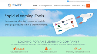 Details : Top eLearning Software Solutions companies India, Swift Elearning