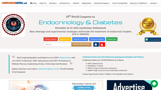Details : 15th World Congress on Endocrinology & Diabetes
