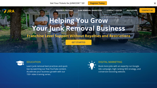 Details : Junk Removal Franchise   Be Your Own Boss   Junk Removal Authority